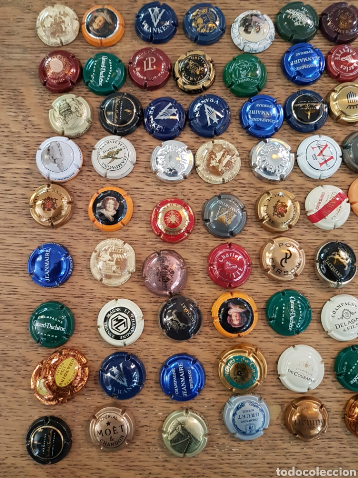 Coleccionismo Otros Botellas y Bebidas: Chapas de champan - Foto 2 - 212341761