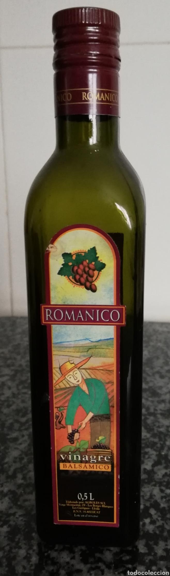 BOTELLA VINAGRE ROMANICO (Coleccionismo - Otras Botellas y Bebidas )