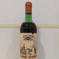 Coleccionismo Otros Botellas y Bebidas: VINO BOTELLA GRAN RESERVA 1964 - BATALLA DE ALMANSA. Lote 214166508