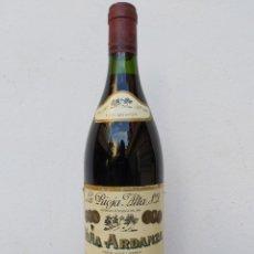 Coleccionismo Otros Botellas y Bebidas: BOTELLA VINO VIÑA ARDANZA- RESERVA 1989 - RIOJA. Lote 214220538