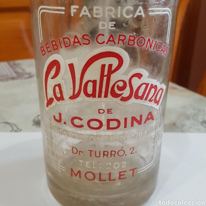 Coleccionismo Otros Botellas y Bebidas: SIFON LA VALLESANA DE J.CODINA (MOLLET) - Foto 2 - 214555343