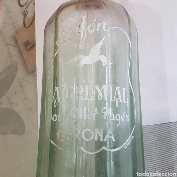 Coleccionismo Otros Botellas y Bebidas: SIFON LA GREMIAL (GERONA) - Foto 2 - 214555507