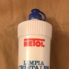 Coleccionismo Otros Botellas y Bebidas: BOTE O FRASCO DE LIMPIACRISTALES NETOL CON SU LÍQUIDO ORIGINAL. PUBLICIDAD. Lote 214572581