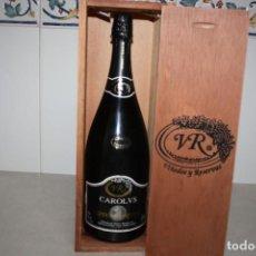 Coleccionismo Otros Botellas y Bebidas: BOTELLA GRANDE DE CAROLUS. Lote 215131476