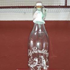 Coleccionismo Otros Botellas y Bebidas: BOTELLA DE GASEOSA LOS PARDILLOS DE BARCO DE AVILA 1L. Lote 217652203