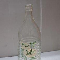 Coleccionismo Otros Botellas y Bebidas: BOTELLA ACEITE JALEO ÚNICA EN TC PIEZA ÚNICA. Lote 218145925
