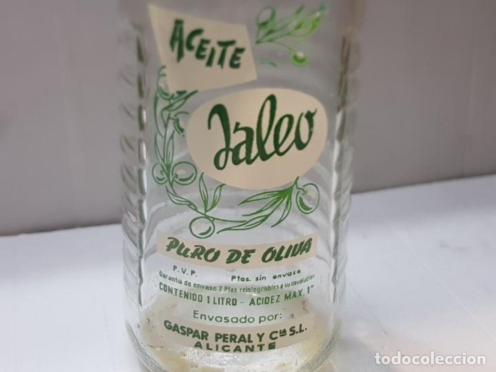 Coleccionismo Otros Botellas y Bebidas: Botella Aceite Jaleo única en TC pieza única - Foto 2 - 218145925