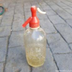 Coleccionismo Otros Botellas y Bebidas: SIFON LA MASCOTA SAN FELIU DE GUIXOLS. Lote 218601573
