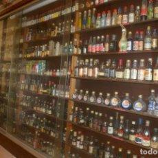 Coleccionismo Otros Botellas y Bebidas: COLECCIÓN ANTIGUA DE MAS DE 50 AÑOS DE 3000 BOTELLINES LLENOS DE TODA VARIEDAD DE LICORES. Lote 218683077