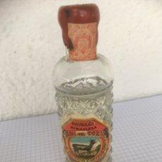 Coleccionismo Otros Botellas y Bebidas: BOTELLÍN ANIS DEL CORZO DESTILERÍA BURGALESA ANTONIO CARCEDO AÑOS 50. Lote 218713025