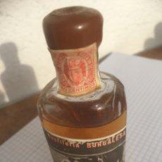 Coleccionismo Otros Botellas y Bebidas: BOTELLÍN LICOR KALISAYA DESTILERÍA BURGALESA AÑOS 50. Lote 218716523