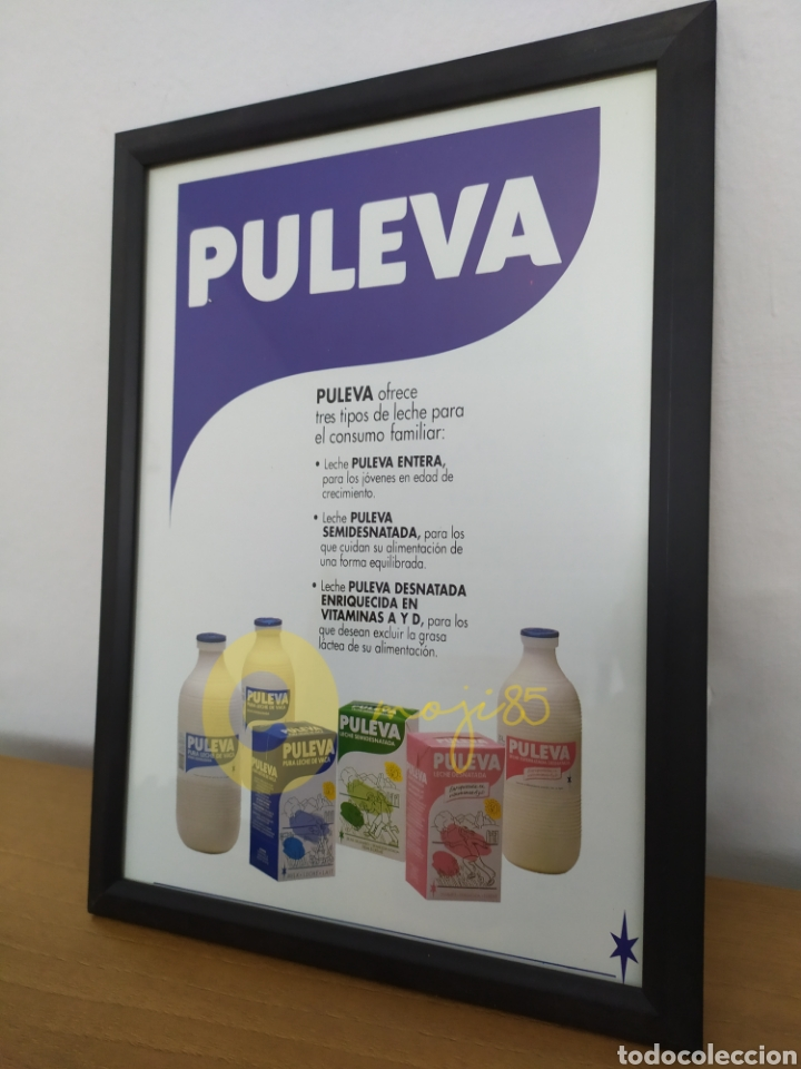 Coleccionismo Otros Botellas y Bebidas: JMJ85 Hoja publicitaria antigua leche Puleva publicidad - Foto 2 - 218752598
