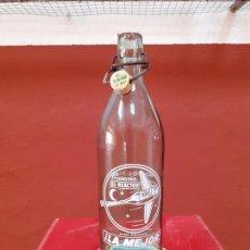 Coleccionismo Otros Botellas y Bebidas: BOTELLA DE GASEOSA EL REACTOR DE MADRID 1L. Lote 220413897