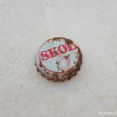 Coleccionismo Otros Botellas y Bebidas: CHAPA CERVEZA SKOL 1 (TCI). Lote 221537720