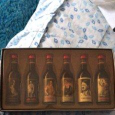 Coleccionismo Otros Botellas y Bebidas: MINI BOTELLAS DE LICOR ADOLF HITLER. Lote 221554043