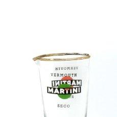 Coleccionismo Otros Botellas y Bebidas: VASO PARA COCKTEL MARTINI, COCKTELERA MARTINI, BAR RETRO VINTAGE. Lote 221720540