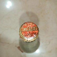 Coleccionismo Otros Botellas y Bebidas: CHAPA CORONA INSALUS TOLOSA SIN MELLA CON BOTELLA. Lote 222070607