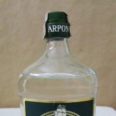 Coleccionismo Otros Botellas y Bebidas: ARPON GIN GINEBRA. Lote 222188955