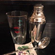 Coleccionismo Otros Botellas y Bebidas: VINTAGE LOTE DE CÓCTEL - MARTINI. Lote 222294618