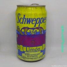 Coleccionismo Otros Botellas y Bebidas: LATA VACÍA DE SCHWEPPES LIMÓN 1992. Lote 222514292