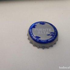 Coleccionismo Otros Botellas y Bebidas: CHAPA AGUA MINERAL NATURAL FUENTE ALTA (Z). Lote 222535650