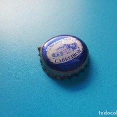 Coleccionismo Otros Botellas y Bebidas: CHAPA AGUA MINERAL NATURAL CABREIROÁ (TCI). Lote 222536463