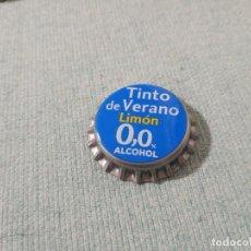 Coleccionismo Otros Botellas y Bebidas: CHAPA TINTO DE VERANO LIMÓN 0,0 1 (U). Lote 222540391