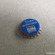 Coleccionismo Otros Botellas y Bebidas: CHAPA TINTO DE VERANO LIMÓN 0,0 2 (U). Lote 222540426