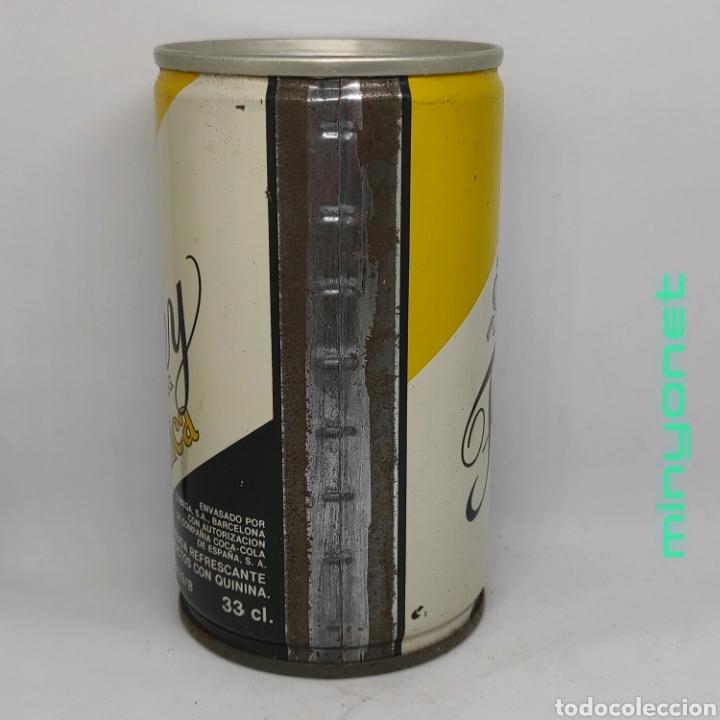 Coleccionismo Otros Botellas y Bebidas: Lata vacía de Tonica Finley años 80 - Foto 2 - 222619010