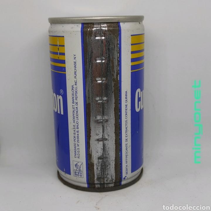 Coleccionismo Otros Botellas y Bebidas: Lata vacía de Tonica Cunnington (grupo Pepsi), años 80 - Foto 2 - 222619018