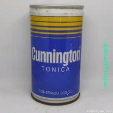 Coleccionismo Otros Botellas y Bebidas: LATA VACÍA DE TONICA CUNNINGTON (GRUPO PEPSI), AÑOS 80. Lote 222619018