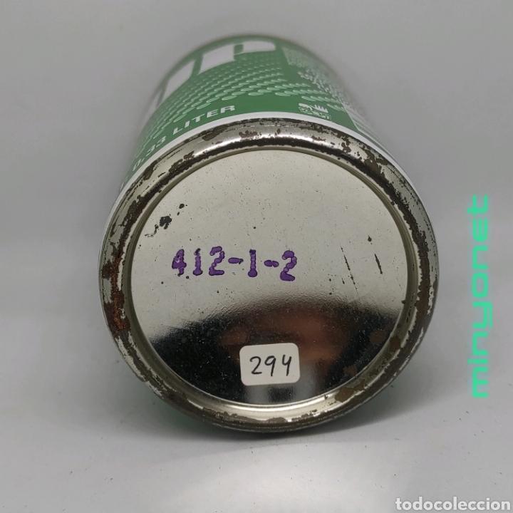 Coleccionismo Otros Botellas y Bebidas: Lata vacía seven up - 7up años 80 - Foto 4 - 222631960
