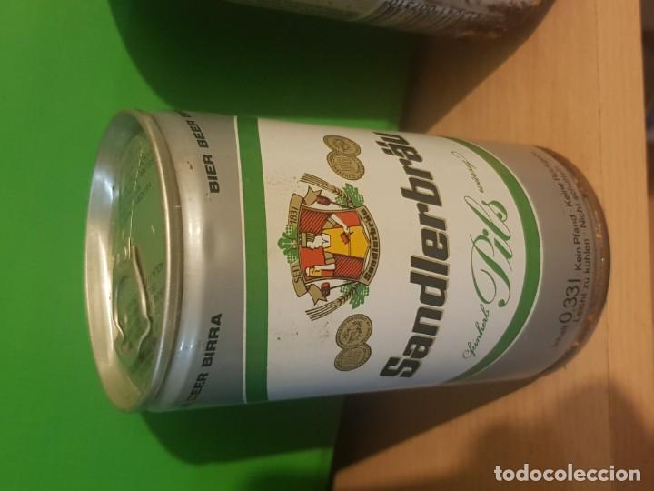 COLECCION PARTICULAR, LATA DE CERVEZA ANTIGUA, LLENA (Coleccionismo - Otras Botellas y Bebidas )