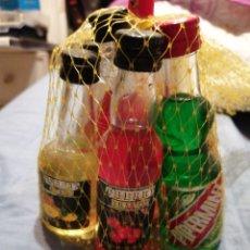 Coleccionismo Otros Botellas y Bebidas: LOTE 7 BOTELLINES LLENOS. Lote 226363015