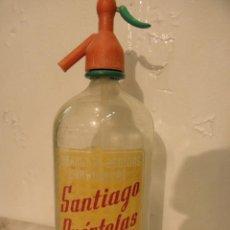 Coleccionismo Otros Botellas y Bebidas: SIFON SANTIAGO PUERTOLAS. Lote 227618040