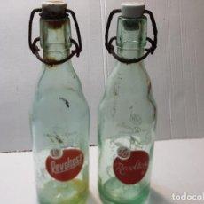 Coleccionismo Otros Botellas y Bebidas: BOTELLAS GASEOSA REVOLTOSA LOTE 2 BOTELLAS DISTINTAS 50CL. Lote 228968605
