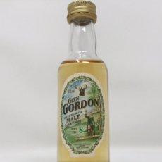 Collectionnisme d'Autres Bouteilles et Boissons : GLEN GORDON 8 YRS OLD SINGLE HIGHLAND MALT DE LOS AÑOS 90 DE 5CL, MINIATURA/BOTELLÍN. Lote 232925185