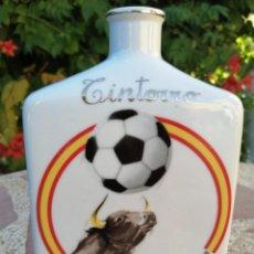 Coleccionismo Otros Botellas y Bebidas: BOTELLA RECUERDO CAMPEONATO MUNDIAL DE FÚTBOL 1982. Lote 235201175