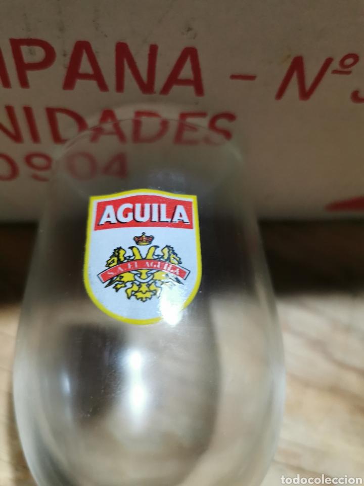 Coleccionismo Otros Botellas y Bebidas: Lote de 12 copas S. A. El águila en su caja original. - Foto 4 - 237003115