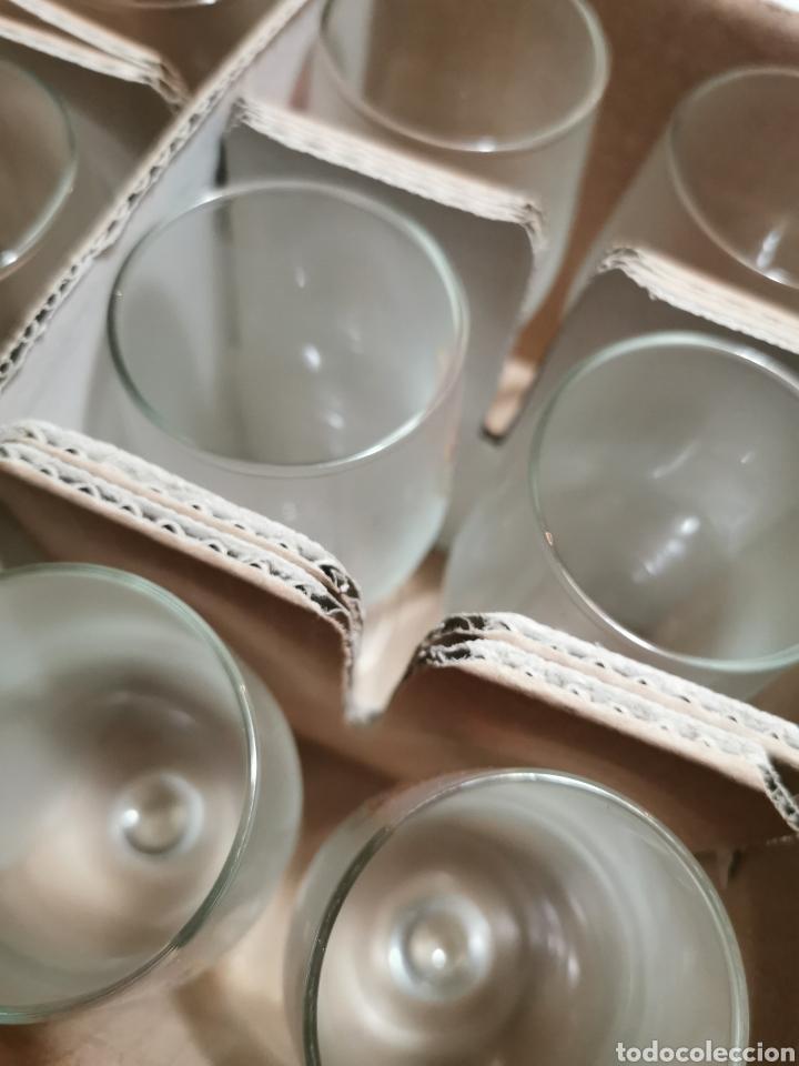 Coleccionismo Otros Botellas y Bebidas: Lote de 12 copas S. A. El águila en su caja original. - Foto 7 - 237003115