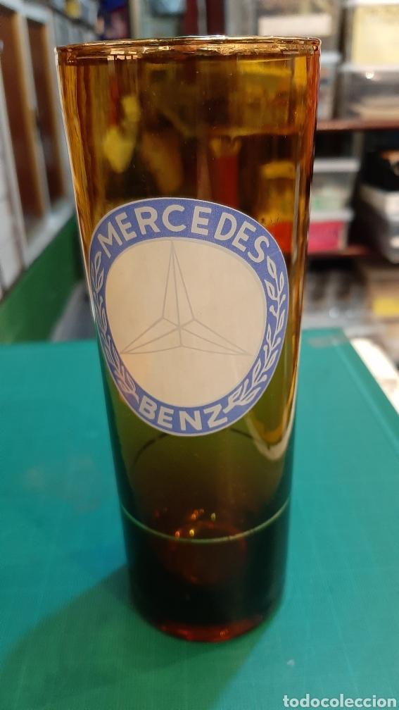 Coleccionismo Otros Botellas y Bebidas: MERCEDES BENZ VASO VINTAGE 17 CTMOS ALTO COLECCIONISMO COLISEVM ANTIGÜEDADES - Foto 2 - 237343805