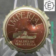 Coleccionismo Otros Botellas y Bebidas: TAPÓN CORONA DE AGUA IMPERIAL - CALDES DE MALAVELLA. Lote 237654205