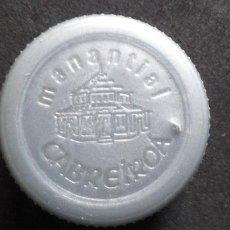 Coleccionismo Otros Botellas y Bebidas: AGUA-TAPON ROSCA-PENN-WATER-PLASTICO-CABREIROA. Lote 240892665