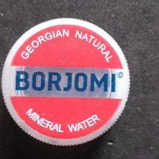 Coleccionismo Otros Botellas y Bebidas: AGUA-TAPON ROSCA-PENN-WATER-PLASTICO-BORJOMI. Lote 240893765