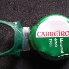 Coleccionismo Otros Botellas y Bebidas: AGUA-TAPON-ABREFACIL-PENN-WATER-CABREIROA. Lote 240932995