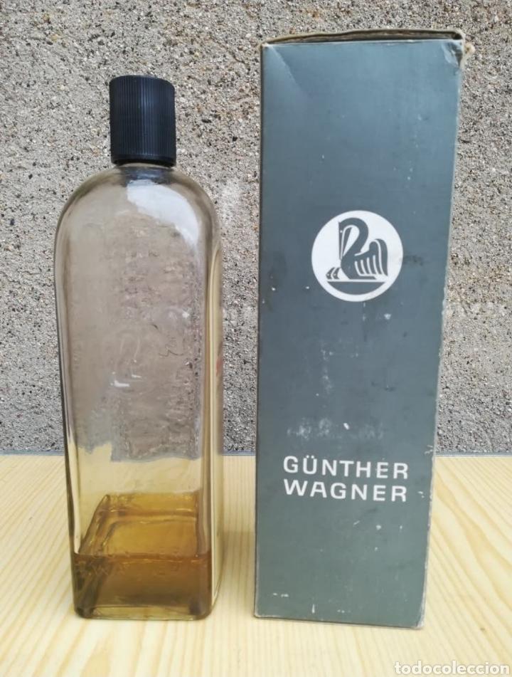 Coleccionismo Otros Botellas y Bebidas: ANTIGUA BOTELLA GOMA ARÁBIGA Pelikan, nº 61. - Foto 2 - 242052915