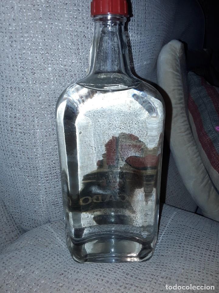 Coleccionismo Otros Botellas y Bebidas: GINEBRA SECA GIN MORGADOR .PRECINTO 4 PESETAS. - Foto 3 - 243103665