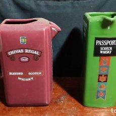 Coleccionismo Otros Botellas y Bebidas: JARRAS DE WHISKY ,CERAMICA. Lote 243219685