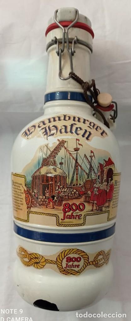 GARRAFA LHAMBURGER LHAFEN (Coleccionismo - Otras Botellas y Bebidas )