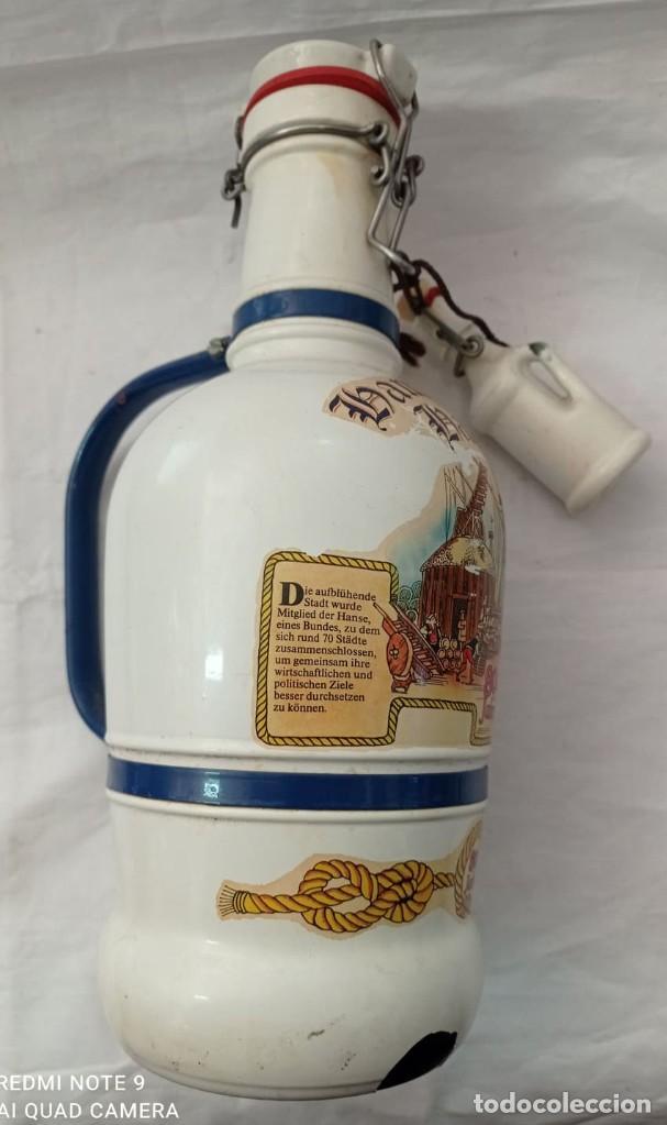 Coleccionismo Otros Botellas y Bebidas: GARRAFA LHAMBURGER LHAFEN - Foto 2 - 243865650